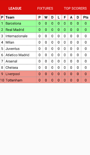 League Table Creator 1.03 Screenshots 4