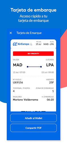 AirEuropa screenshots 4