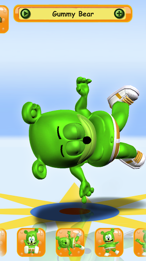 Talking Gummy Free Bear Games for kids screenshots 2
