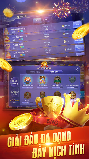 Texas Poker Viu1ec7t Nam apkslow screenshots 10
