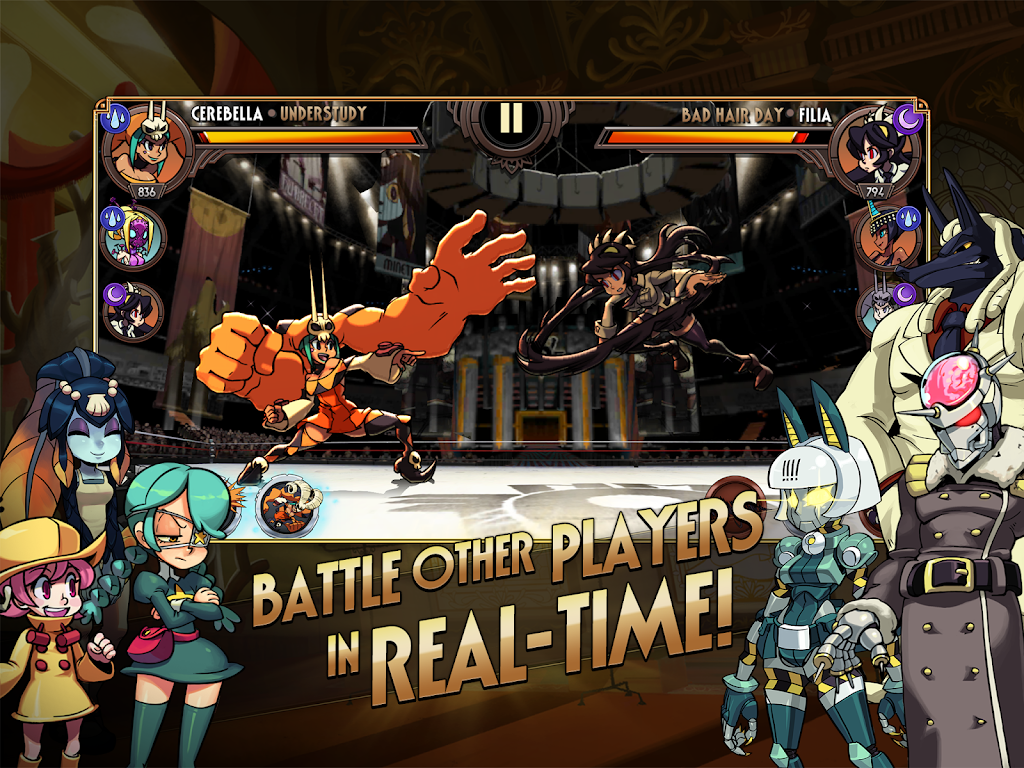 Skullgirls: Fighting RPG  poster 7