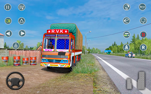 Indian Truck Driver Cargo: Free Transporter Duty 2