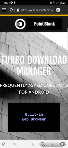 Turbo Download Manager (and Browser) modiapk screenshots 1