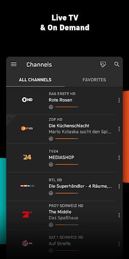 Zattoo - TV Streaming App apktram screenshots 2