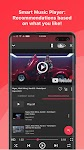 screenshot of Free music player for YouTube: Stream