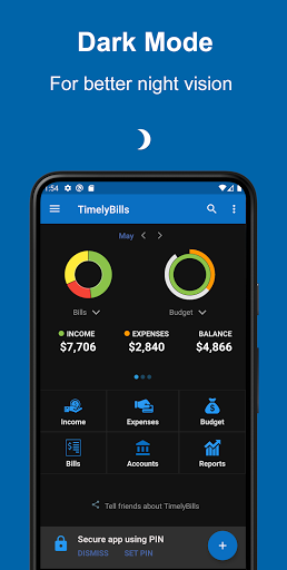 Bills Reminder, Budget Planner & Expense Tracker