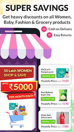 Indian Women App: Healofy Latest screenshots 1