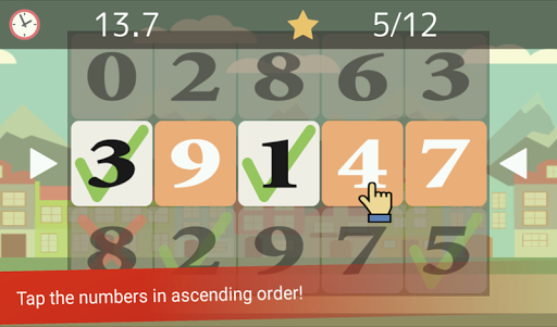 Tap the Numbers (Calculation, Brain training) 3.3.2 screenshots 1
