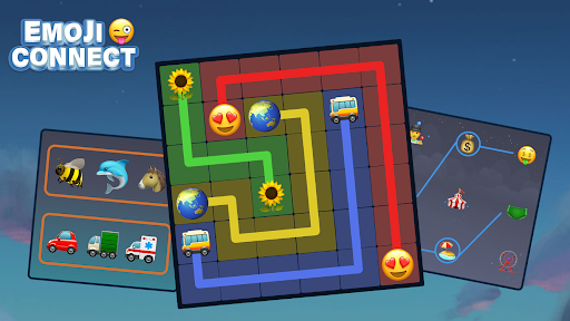 Connect Emoji Puzzle apkdebit screenshots 7