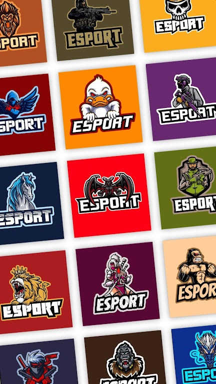 Esport Logo Maker - Create Free Gaming Logo Mascot  poster 0
