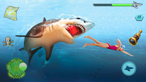 Angry Shark Attack - Wild Shark Game apkdebit screenshots 10