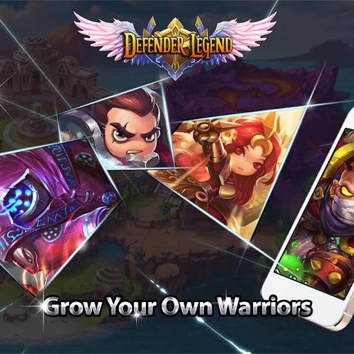 Defender Legend Premium: Hero Champions TD  screenshots 1