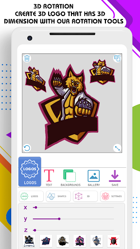 3D Logo Maker 1.3.0 Screenshots 10