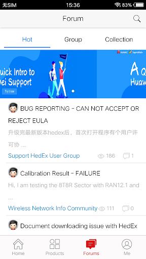Huawei Technical Support  screenshots 3
