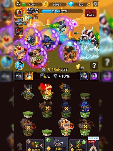 Merge Heroes Frontier: Casual RPG Online 3.3.0 screenshots 15