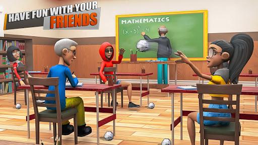 Virtual High School Girl Life Simulator  screenshots 1