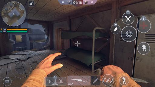 World War 2 - Battle Combat (FPS Games) android2mod screenshots 2