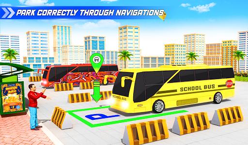 School Bus Driving Simulator Bus Parking Games 20 Screenshots 12