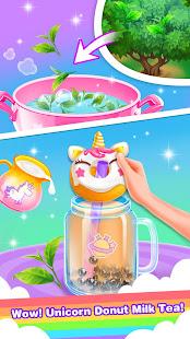Unicorn Bubble Tea – Milk Tea Maker of Girls Games