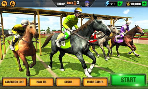 Horse Riding Rival: Multiplayer Derby Racing 1.3 de.gamequotes.net 1