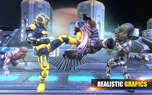 Télécharger Super Robot Fighting - Real Kungfu Fight Game APK MOD (Astuce) screenshots 2