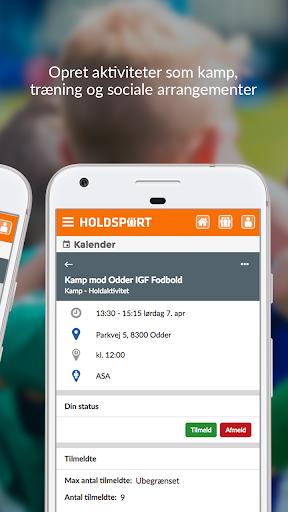 Holdsport - Hurtig tilmelding & kontingentbetaling 6.6.348 screenshots 2