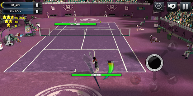 Ultimate Tennis: 3D online sports game Screenshot