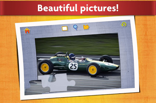 Sports Car Jigsaw Puzzles Game - Kids & Adults ud83cudfceufe0f screenshots 5