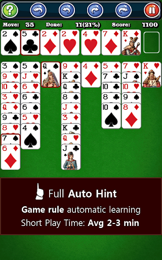 550+ Card Games Solitaire Pack 1.20 screenshots 8