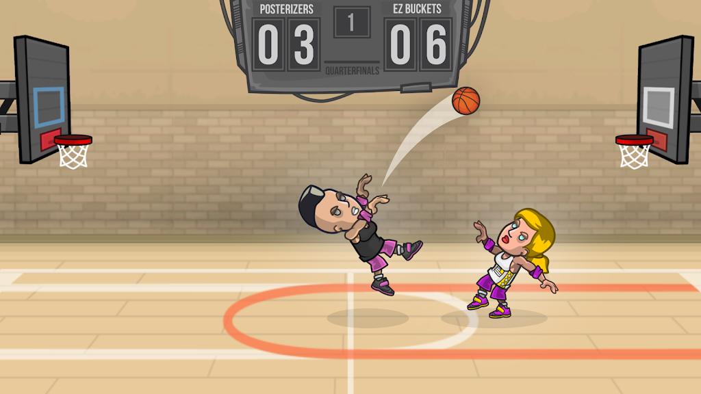 Basketball Battle poster 2