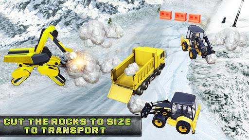Code Triche vrais jeux de machine de pelle de camion de chasse apk mod screenshots 3