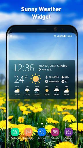 real-time weather temperature report & widget screenshot 3