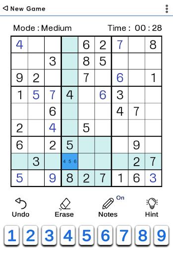 Sudoku Classic 1.5.2 screenshots 1