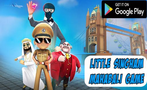 New Little Singham Mahabali Game - Police Cartoon 4 screenshots 7