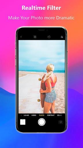 Selfie Camera for iPhone 11  u2013 iCamera IOS 13  Screenshots 4