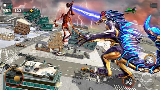 Monster Smash City - Kaiju vs Siren Head  screenshots 2