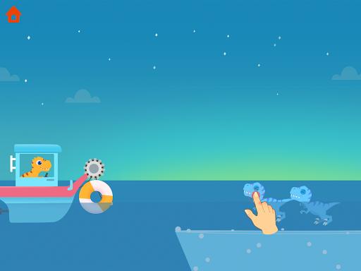 Dinosaur Patrol Boat - Coast Guard Games for kids apkmr screenshots 23