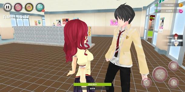 Anime High School Simulator Mod Apk (Unlimited Gold) 4