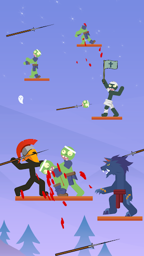 The Warrior - Top Stickman 1.1.6 screenshots 1