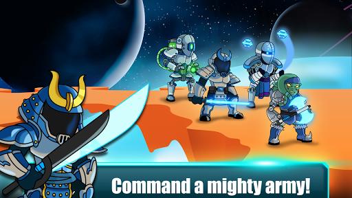Space Warriors - Sci-fi Strategy Combat Game  APK MOD (Astuce) screenshots 2