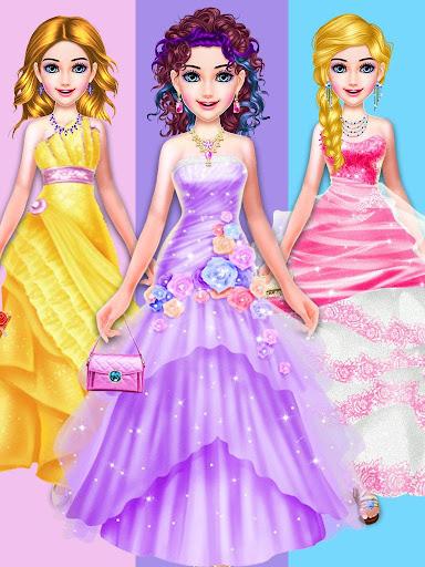 dress up girls game : stylist - fashion salon screenshot 2