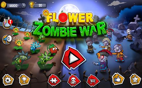 Flower Zombie War 1.2.6 Screenshots 1