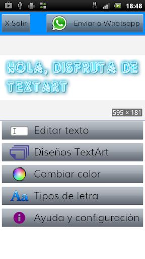TextArt u2605 Cool Text creator 1.2.2 Screenshots 10
