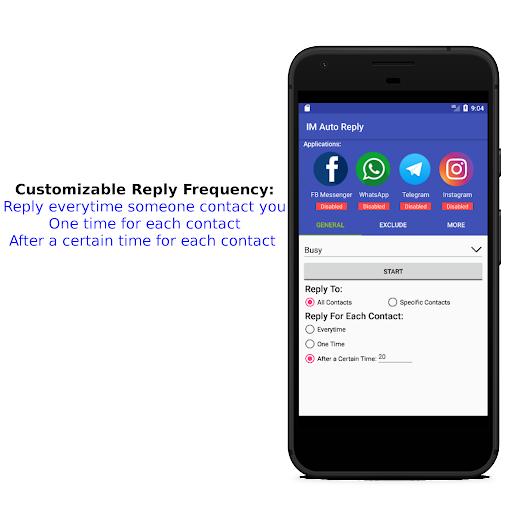 IM Auto Reply 8.9.3 Screenshots 5