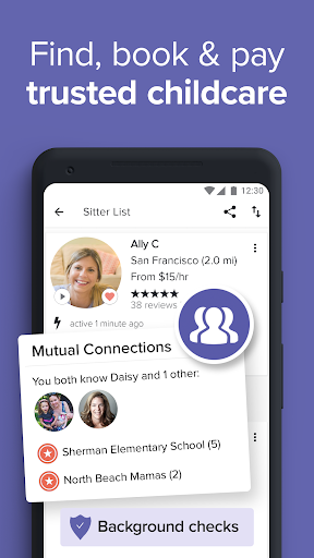UrbanSitter - Find a Local Caregiver You Can Trust android2mod screenshots 1