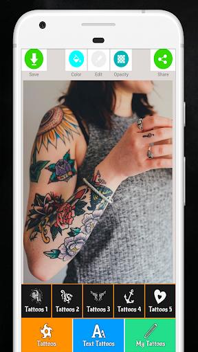 Tattoo Maker - Love Tattoo Maker  Screenshots 1