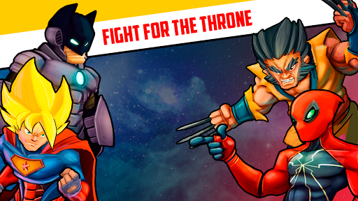 Superheroes League - Free fighting games 2.1 screenshots 20