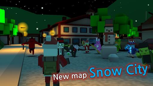 Pixel Z Hunter2 3D - World Battle Survival TPS  screenshots 6