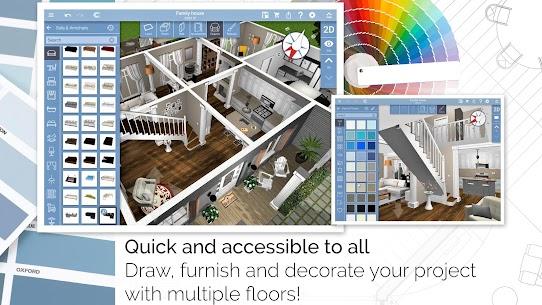 برنامج تصميم منازل بالعربي للكمبيوتر Sweet home 3D 2021 2