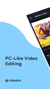 Movavi Clips Video Editor – łatwa edycja wideo Screenshot